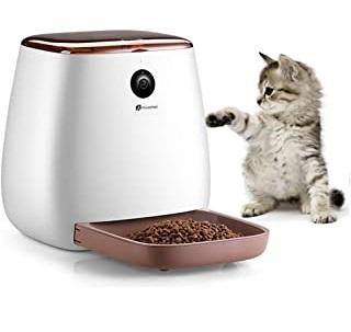 alimentadores inteligentes de gatos
