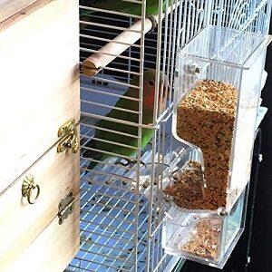 Comederos Automaticos para Pajaros fuera de la jaula